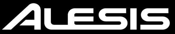 Studio setup - Alesis Logo