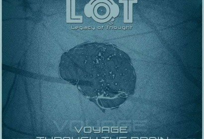 Voyage Through the Brain Cover - Legacy of Thought Label - Electronic Music of Brainvoyager