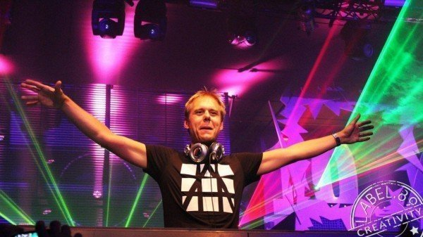 Armin van Buuren on stage