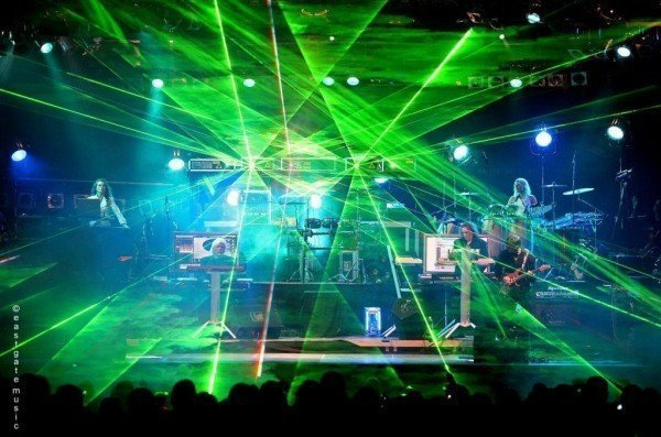 Tangerine Dream during a recent concert