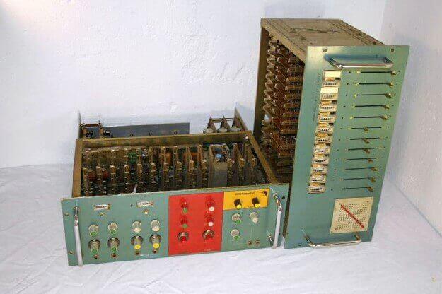 Vocoder, custom built for Kraftwerk in early 1970s
