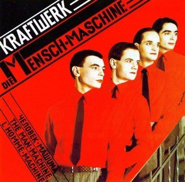 Kraftwerk - Album cover Die Mensch Maschine