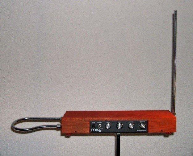 Modern theremin by Moog