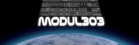 Logo radio station Modul303 - Electronic Fusion - Electronic Music Of Brainvoyager