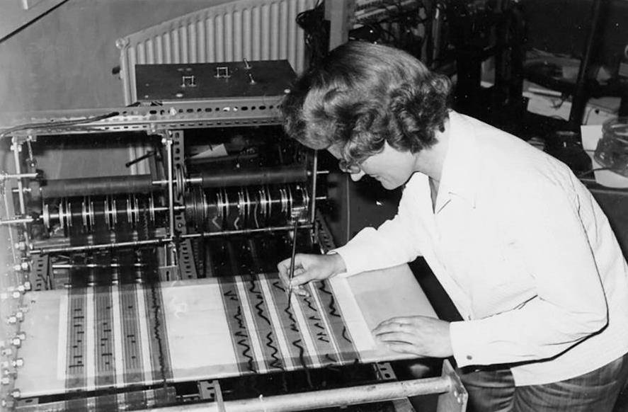 History of electronic music - Electronic Music of Brainvoyager - Daphne Oram and the Oramics machine