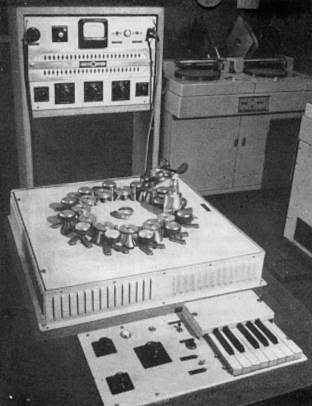 History of electronic music - Electronic Music of Brainvoyager - Phonogene (1953) at GRMC