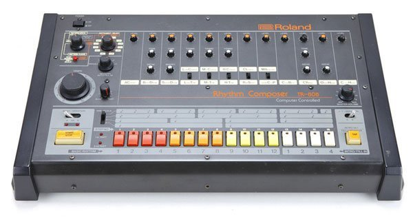 History of electronic music - Electronic Music of Brainvoyager - Roland TR808