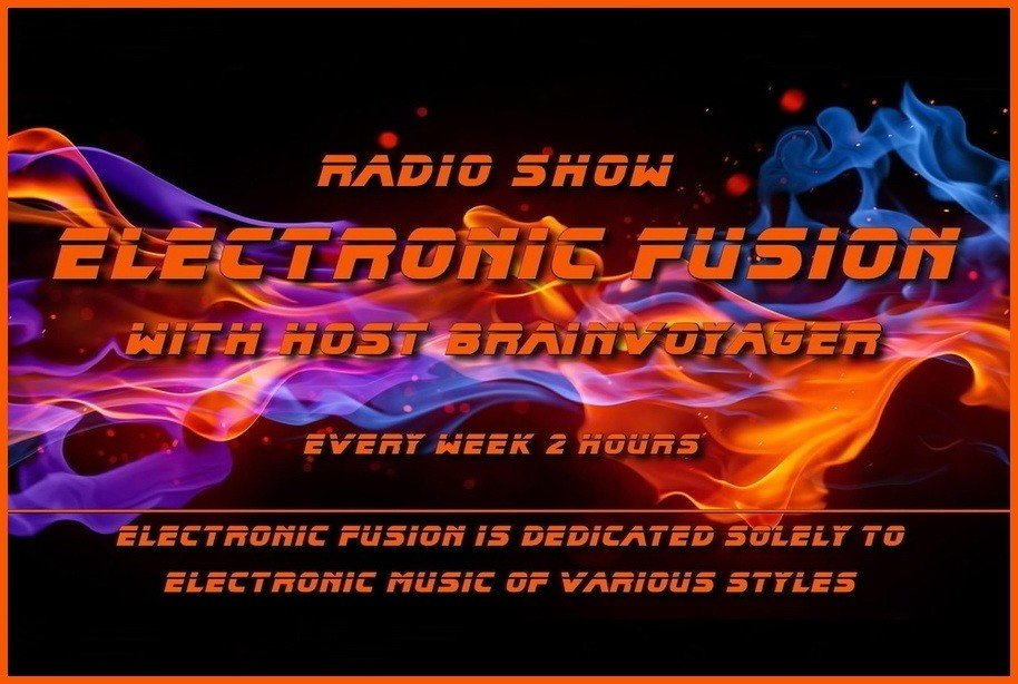 Official Poster Electronic Fusion - Electronic Music of Brainvoyager