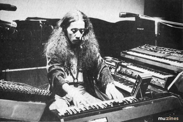 Kitaro - Electronic Music of Brainvoyager - Performing in 1982